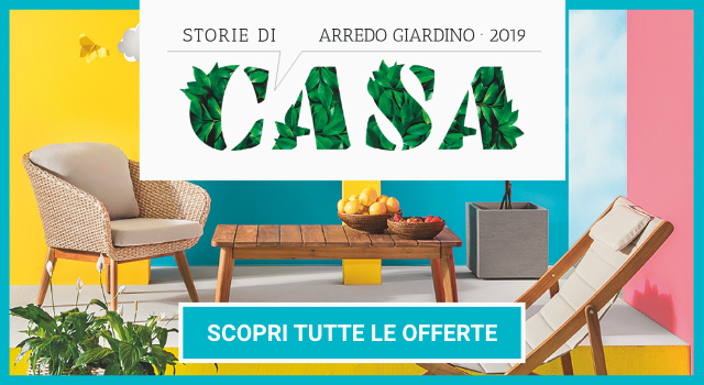 Tavolo Giardino Offerte Milano.Iper Storie Di Casa Arredo Giardino