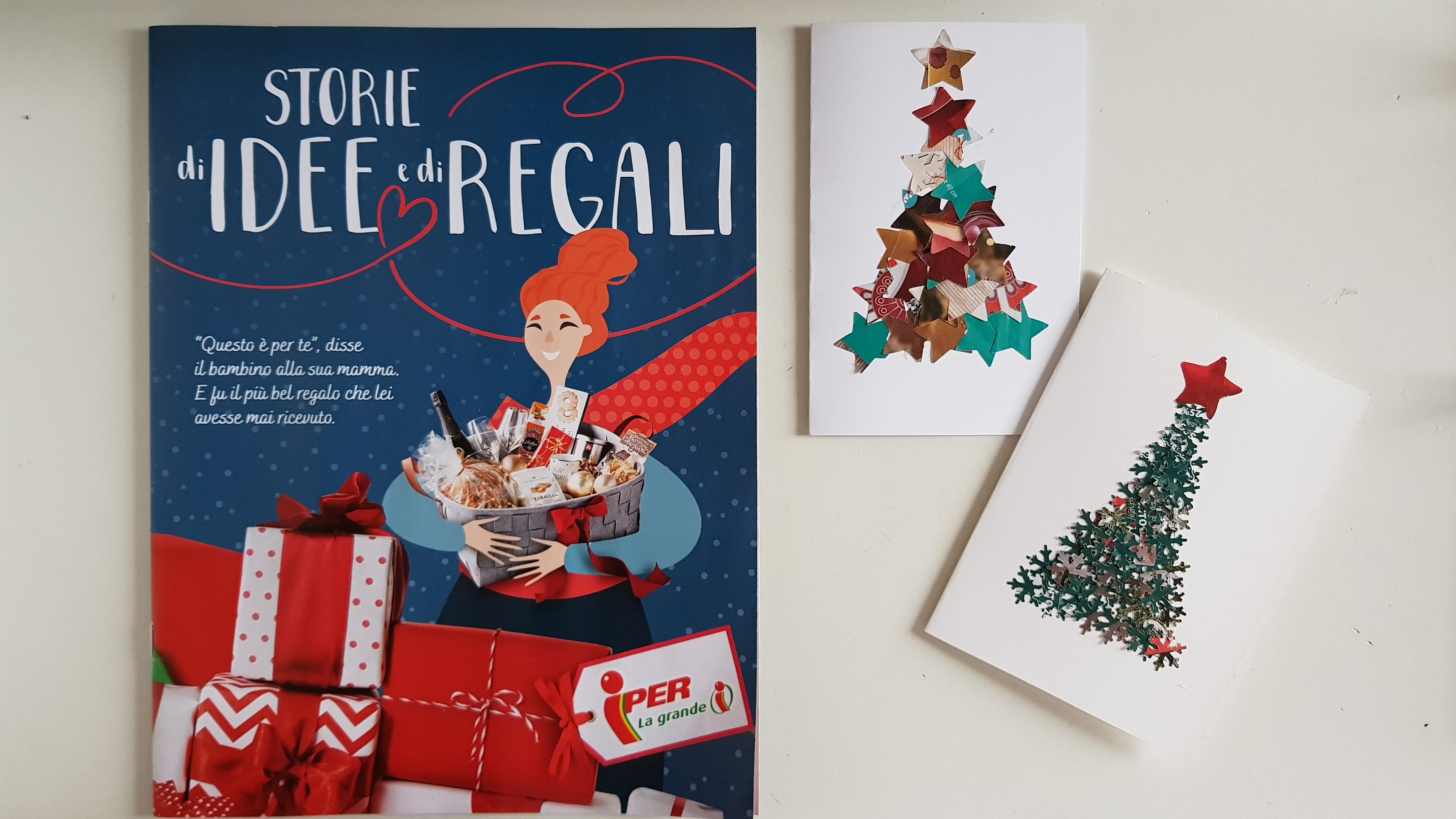 Idee Di Riciclo Per Natale iper - riciclo creativo: biglietti di auguri fai da te