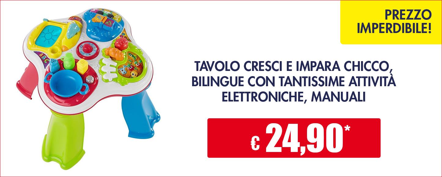 Iper catalogo giocattolo 2017 - Tavolo cresci e impara chicco ...