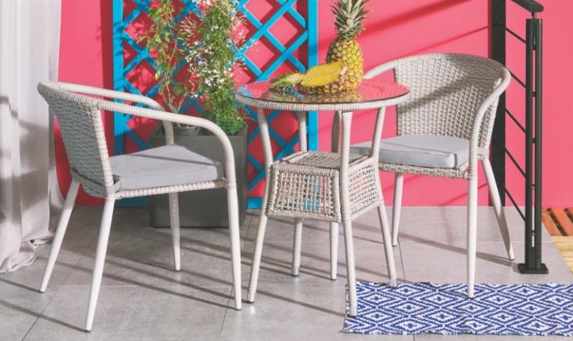 arredo giardino in rattan sedie poltrone divano iper